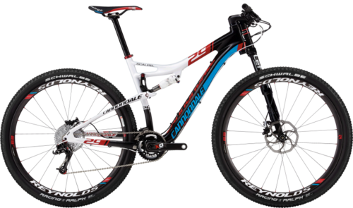 Kit lists scalpel 29er
