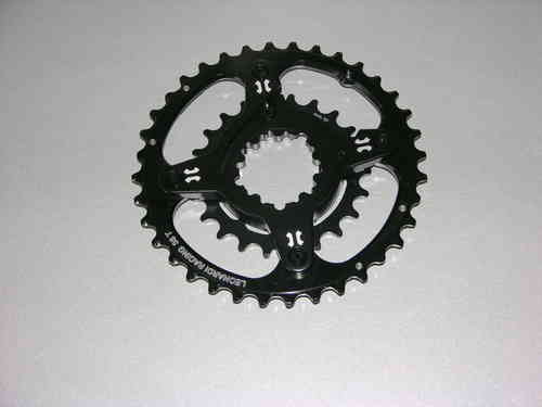 spider for sram carboncranks