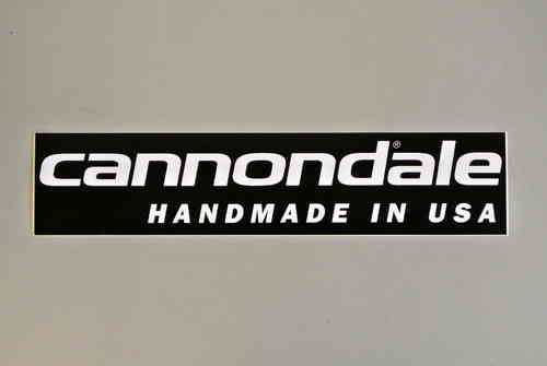 Cannondale Aufkleber Handmade in USA
