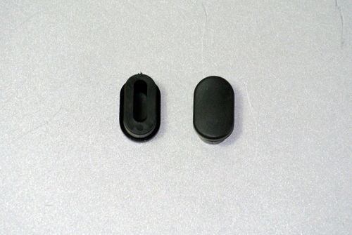 RUBBER PLUG close