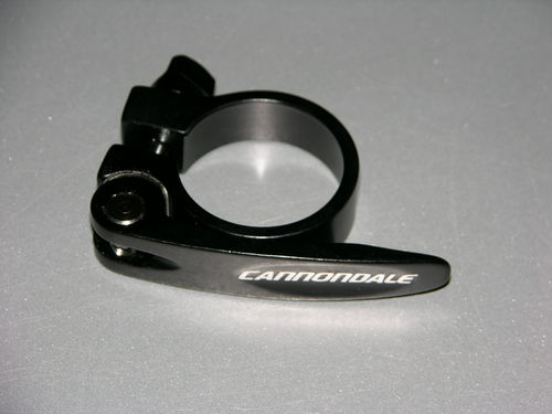 Cannondale saddle clamp with quick release 34,9 mm
