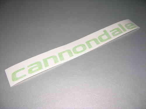 Cannondale sticker