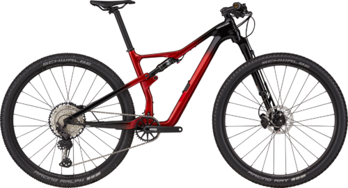 cannondale 2021 Scalpel Carbon 3 Candy Red